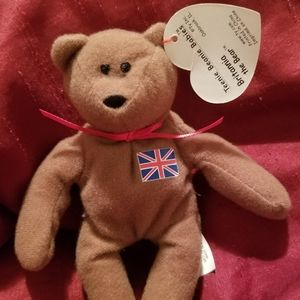 Britannia the Bear Teenie Beanie Baby